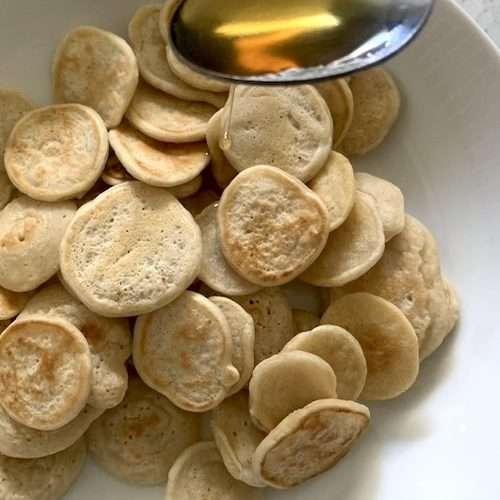 Pancakes céréales véganes