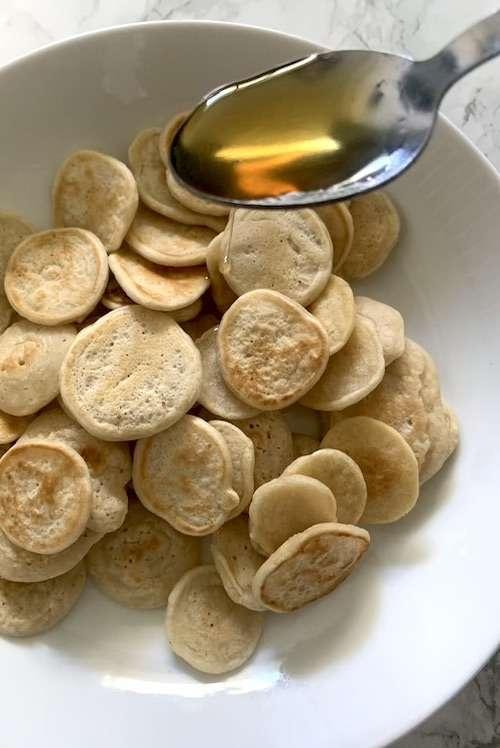 Pancakes céréales vegan