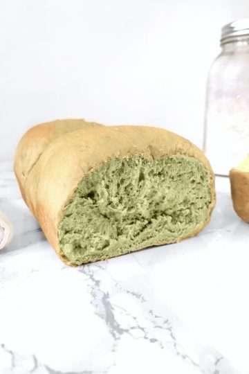 pain japonais au matcha
