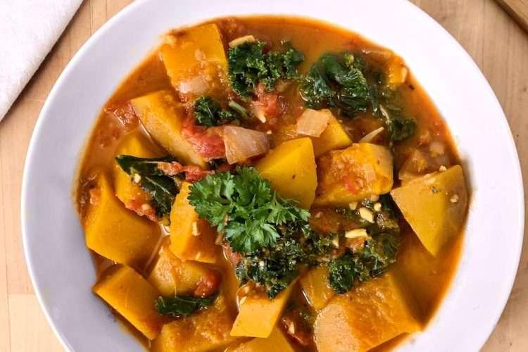 Curry de couge vegan