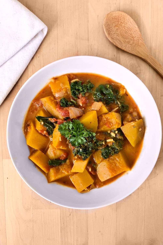 Curry de courge vegan
