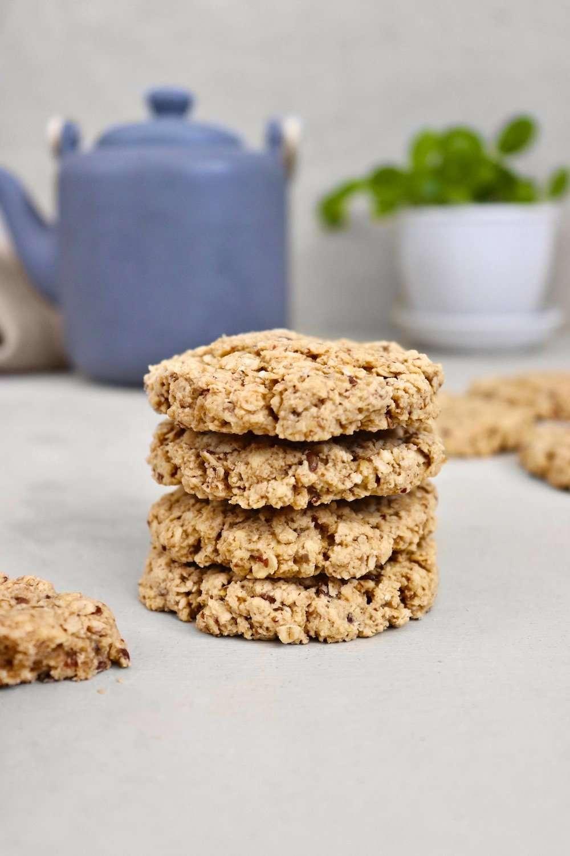 Biscuits tendres à l'avoine vegan