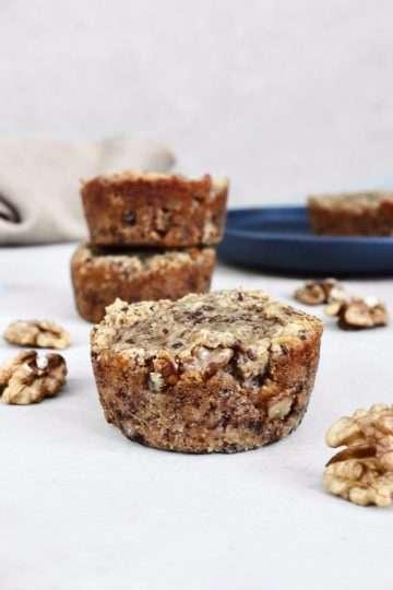 Muffins aux bananes vegan à la farine de noix de coco