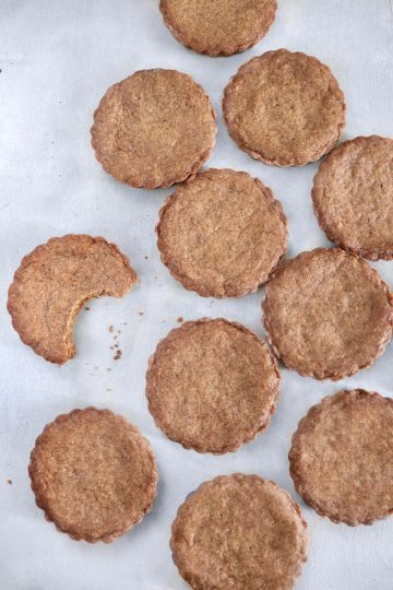 Biscuits spéculos vegan