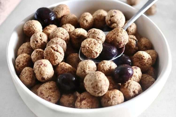 Céréales croquantes à la cannelle vegan