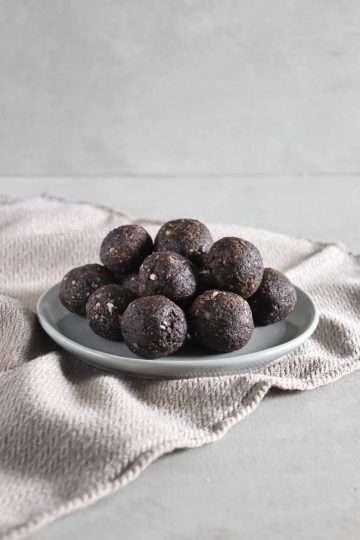 Boules d'énergie brownie