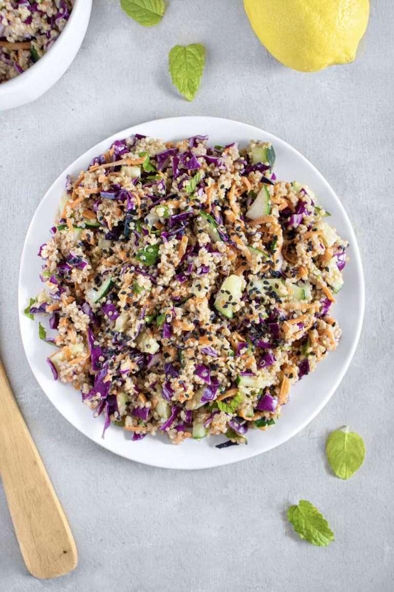 Salade de quinoa à l'asiatique