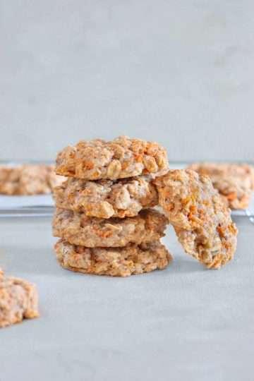 Biscuits aux carottes vegan